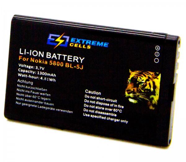 Extremecells Akku für Nokia Lumia 520 521 530 BL-5J Accu Battery Batterie