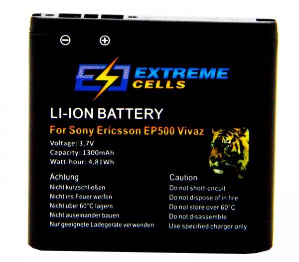 Extremecells Akku für Sony Ericsson EP500 Xperia X8 Vivaz Accu Battery