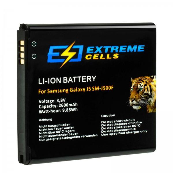 Extremecells Akku für Samsung Galaxy J3/J5 EB-BG530BBECWW