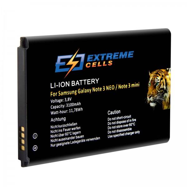 Extremecells Akku für Samsung Galaxy Note 3 Neo SM-N7505 Note 3 mini Batterie